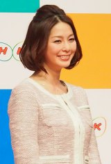 山岸舞彩アナウンサーの後任として、NHKの『サタデースポーツ』『サンデースポーツ』のメインキャスターを務める同局の杉浦友紀アナ (C)ORICON DD inc.