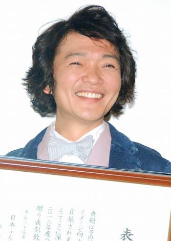 『ベストフンドシストアワード2012』授賞式に出席した山口勝平 (C)ORICON DD inc.
