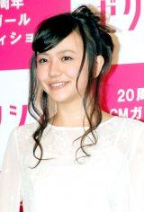 ゼクシィ2013CMガール オーディションでグランプリに選ばれたさくら学院の元メンバー・松井愛莉 (C)ORICON DD inc.