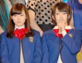 女優デビューを飾ったNMB48(左から)渡辺美優紀、山本彩 (C)ORICON DD inc.