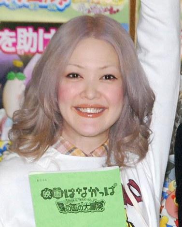 第2子妊娠発表後初の公の場となった松嶋=映画『はなかっぱ』の公開アフレコ (C)ORICON DD inc.
