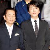 劇場版『相棒シリーズX DAY』の舞台あいさつに登場した(左から)水谷豊、及川光博 (C)ORICON DD inc.