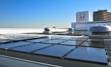 Honda Cars 東京中央 足立小台店((東京都 足立区)に設置された9キロワットの太陽光発電システム