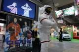 『東京国際アニメフェア2012』の会場のあちこちにNa、Su、Bi(ナスビ)が出没