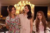 4月1日放送開始の『ジョシスタ あいく的』MC陣(写真左から三好絵梨香、舞川あいく、YU-A)