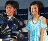 (左から)ますだおかだ・岡田圭右、鈴木ちなみ (C)ORICON DD inc.