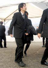 歌舞伎俳優の中村勘三郎さんの本葬に参列した宮藤官九郎 (C)ORICON DD inc.