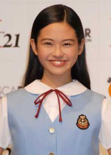 オスカー美少女ユニット『X21』の上水口萌乃香(13・中学1年生) (C)ORICON DD inc.