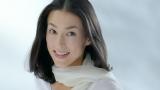 活動再開後初のCM出演を果たした鈴木保奈美