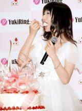 ソロデビューシングル「ショートケーキ」発売記念イベントを行ったAKB48・柏木由紀 (C)ORICON DD inc.