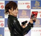 映画『エージェント・マロリー』Blu-ray&DVD発売記念イベントに女スパイのコスプレ姿で登場した吉木りさ (C)ORICON DD inc.