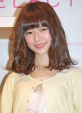 東京・銀座GATE店で行われた新CM発表会に出席した島崎遥香(AKB48) (C)ORICON DD inc.