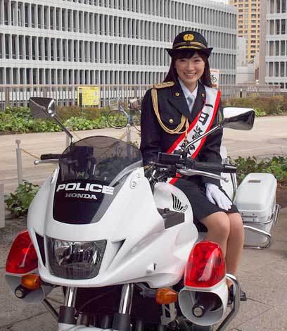 一日婦人警官!?