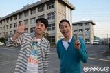 初回収録で早くもゴールデン進出宣言!? 東野幸治(右)と小藪千豊(左)が司会で初タッグを組むフジの深夜新番組『もはや神ダネ』
