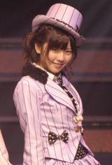 『AKB48 リクエストアワーセットリストベスト100 2013』に出演したAKB48・島崎遥香(撮影:鈴木かずなり)