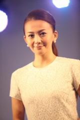 7年ぶりのシングル「夢やぶれて〜 I DREAMED A DREAM〜」発売イベントに出席した華原朋美