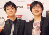 ベストカラアゲニスト受賞を喜ぶ(左から)ヒャダインと下野紘 (C)ORICON NewS inc.