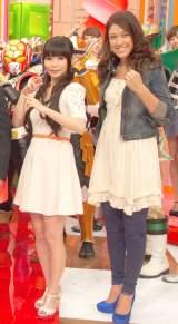 実は古い付き合いだった!?(左から)中川翔子とLiLiCo (C)ORICON NewS inc.