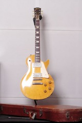 『hide MUSEUM』で披露予定の生前愛用していた1959年製のギブソン・レスポールスタンダードギター
