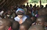 5月5日放送『黒柳徹子のユニセフ緊急報告 世界一新しい国 アフリカ・南スーダンの危機』(C)テレビ朝日