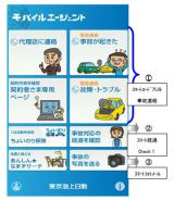 東京海上日動火災保険が10月に導入するアプリ『モバイルエージェント』