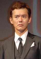 松本人志監督の最新作『R100』製作報告会見に出席した渡部篤郎 (C)ORICON NewS inc.