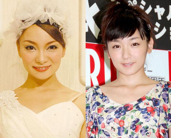 (左から)元モーニング娘。の保田圭と加護亜依 (C)ORICON NewS inc.