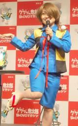 ゲゲゲの鬼太郎に扮して登場したキンタロー。