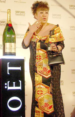 短編映画祭『ショートショート フィルムフェスティバル & アジア 2013』オープニングセレモニーに出席した森公美子 (C)ORICON NewS inc.