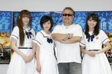 映画『エンド・オブ・ホワイトハウス』公開直前イベントに出席した(左から)松村沙友理、生駒里奈、テレンス・リー、若月佑美