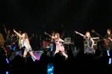 アップフロントグループ所属のアーティストが集結するライブイベント『MUSIC FESTA Vol.1』に元モーニング娘。の(左から)石川梨華、田中れいな、吉澤ひとみらが出演