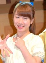 出演舞台『ごがくゆう』の会見に出席した石田亜佑美(モーニング娘。) (C)ORICON NewS inc.