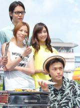 窪田正孝(上)、(2段目左から)香里奈、山本美月、勝地涼 (C)ORICON NewS inc.
