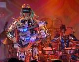 デビューライブ『ZIMA presents Future Party』を行ったロボットバンド・Z-MICHINES(左から)MACH、ASHURA (C)ORICON NewS inc.