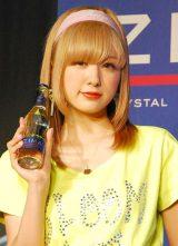 ロボットバンド・Z-MICHINESのデビューライブ『ZIMA presents Future Party』に出席したAMO (C)ORICON NewS inc.