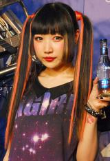 ロボットバンド・Z-MICHINESのデビューライブ『ZIMA presents Future Party』に出席したAYAMO (C)ORICON NewS inc.