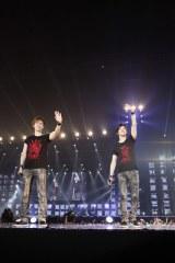 京セラドーム大阪公演で日本ツアーを締めくくった東方神起