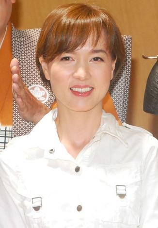 舞台『志村魂−「先(ま)づ健康」再び!』の取材会に出席したいしのようこ (C)ORICON NewS inc.