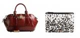 バーバリー六本木店で限定販売される(写真左から)『バーバリー・ブレイズ』22万500円、ドキュメントケース14万1750円