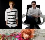 中田ヤスタカ(左上)、J.J.エイブラムス(右上)、きゃりーぱみゅぱみゅ(下) 才能のかたまりたちが『スター・トレック』挿入楽曲「Into Darkness」に集結