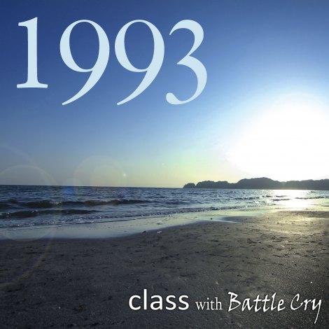class with Battle Cryのカバーアルバム『1993』(8月21日発売)