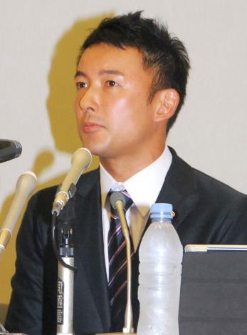 離婚会見を行った山本太郎氏 (C)ORICON NewS inc.