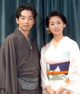 夫婦役を演じる(左から)森山未來&尾野真千子 (C)ORICON NewS inc.