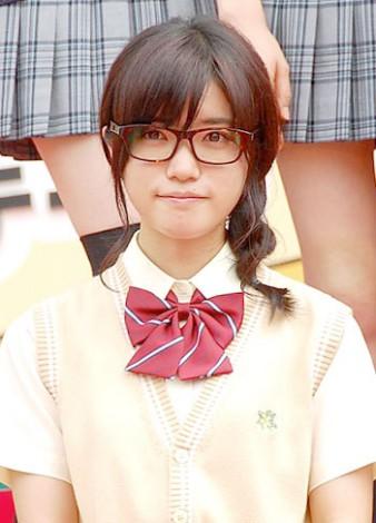 ドラマ出演時の舞台挨拶に登場した、美山加恋。
