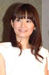 結婚を発表した高樹千佳子 (C)ORICON NewS inc.