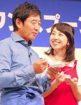 夫婦でイベントに登壇した石田純一&東尾理子夫妻 (C)ORICON NewS inc.