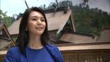 神々の国・出雲を訪れた旅人・知花くらら(C)BSS・TBS