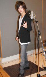 10年ぶりソロシングルのレコーディングを行ったDAIGO (C)ORICON NewS inc.