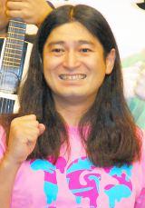 妻と「絶対別れません!」と力説したハイキングウォーキング・鈴木Q太郎 (C)ORICON NewS inc.