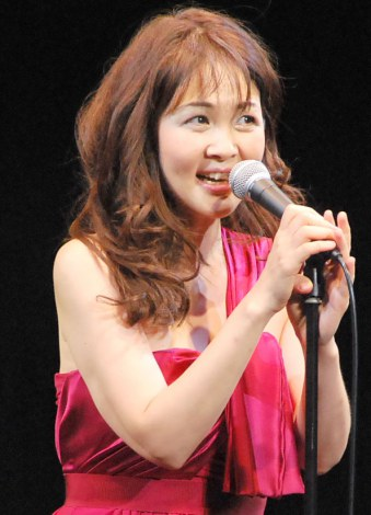 ジャズライブ『泰葉の☆はじめてのJazz Night☆』を行った泰葉 (C)ORICON NewS inc.
